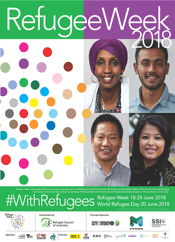 #WithRefugees – Refugee Week 2018