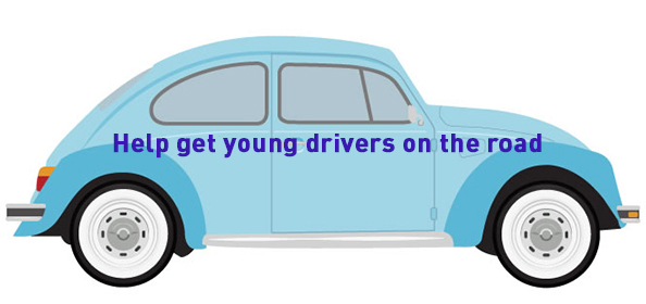 Help get young drivers on the road