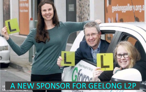 Sponsorship for Geelong L2P