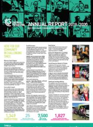 Annual report 2019-2020-cover
